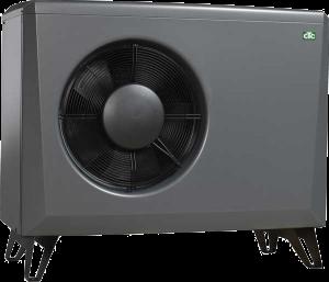Billede af CTC EcoAir 600M modulerende varmepumpe