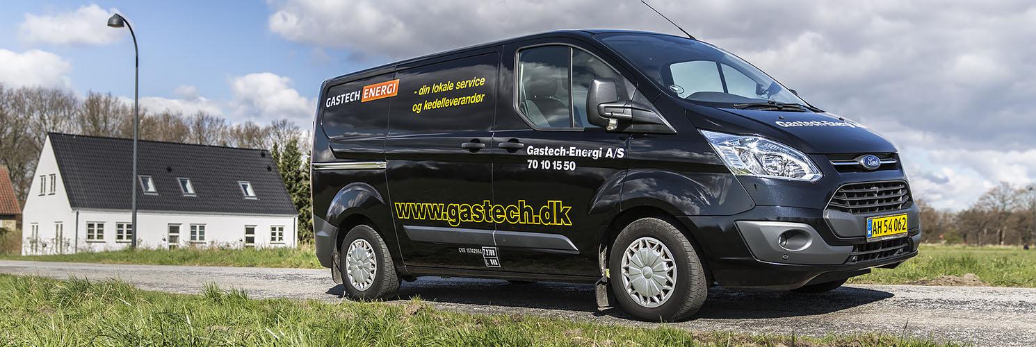 Gastech servicebil klar til at køre ud