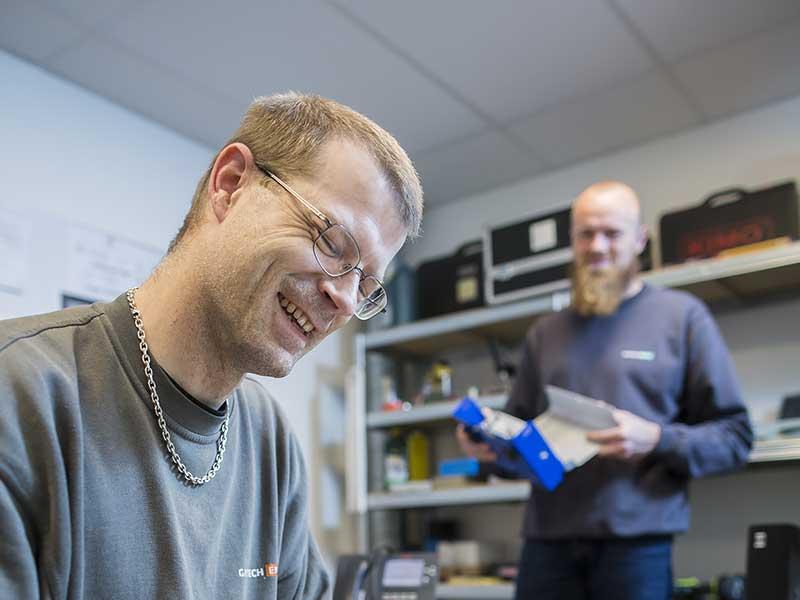 Gastech-Energi glade medarbejdere på værksted
