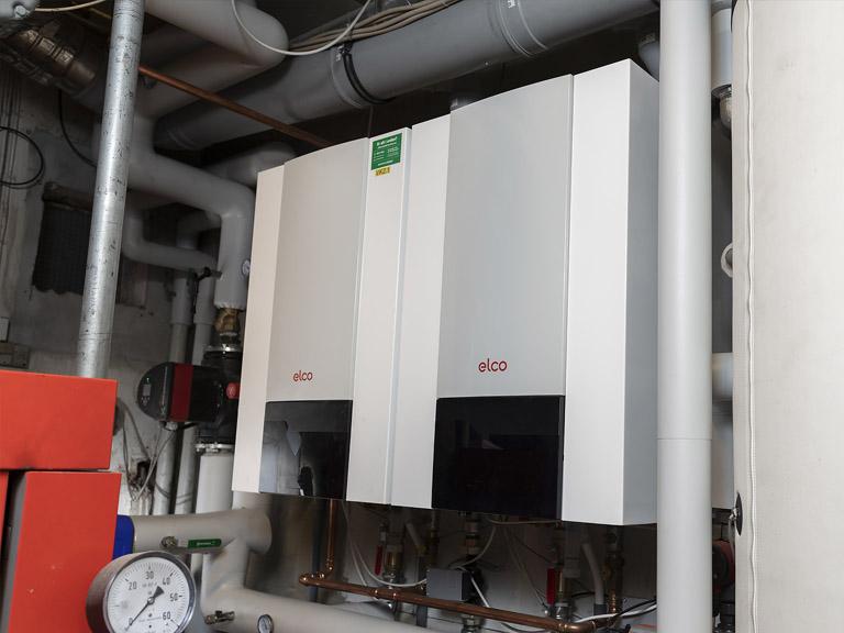 Elco Thision L EVO Gaskedel af fra gastech-energi sikrer bedre driftsøkonomi