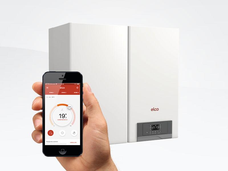 Brug din smartphone som fjernbetjening til gasfyret eller varmepumpen